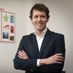 Olaf Roos is QHSE Manager bij internationaal logistiek dienstverlener Oldenburger|Fritom in Veendam.
