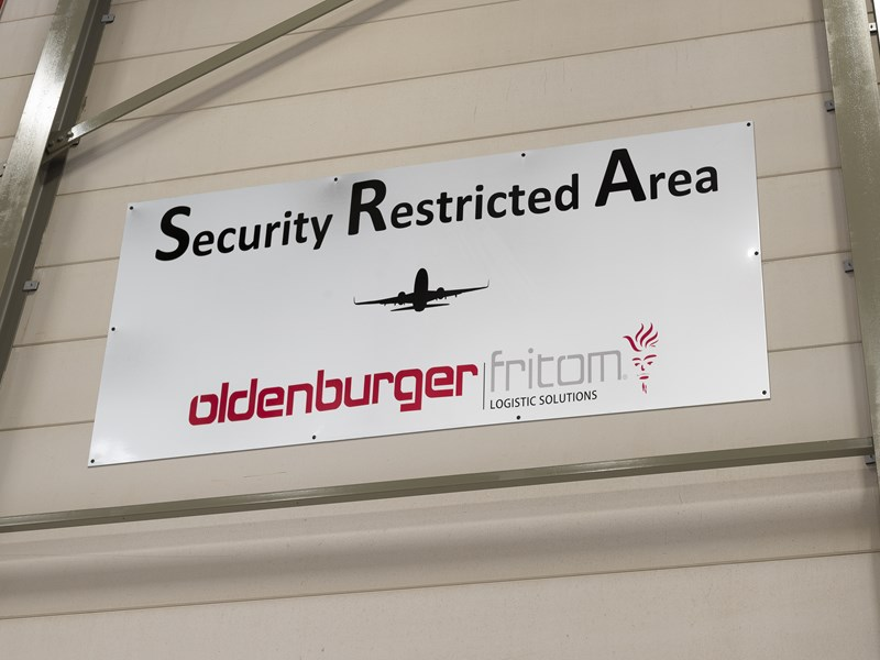 Erkend Agent Security Restricted Area