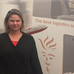 Rianne Timmer is SPOC Logistic Support at global logistics provider Oldenburger|Fritom in Veendam, the Netherlands.